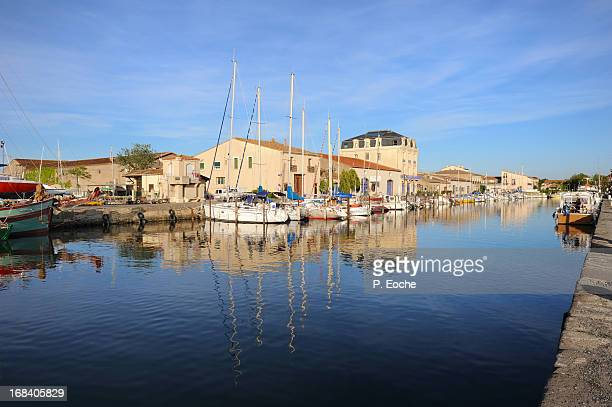 port of marseillan - herault stock pictures, royalty-free photos & images