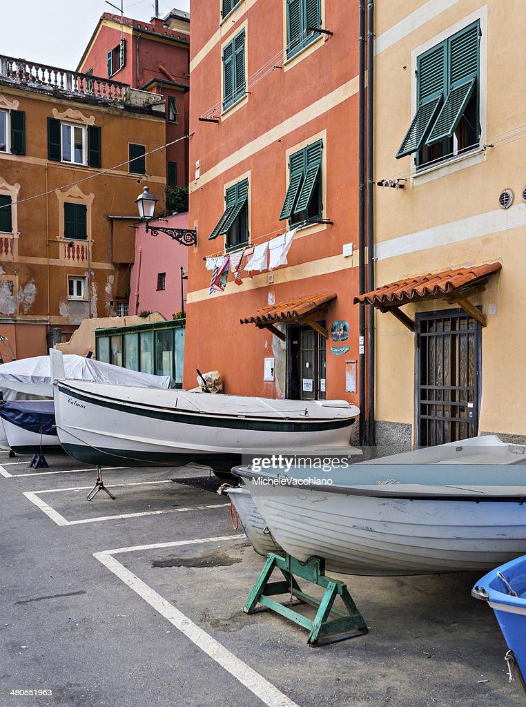 Port of Nervi, Italian Riviera : Stock Photo