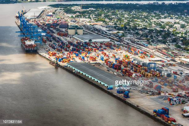 port of new orleans - commercial dock stock pictures, royalty-free photos & images