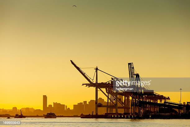 Port of Oakland Shipping Cranes