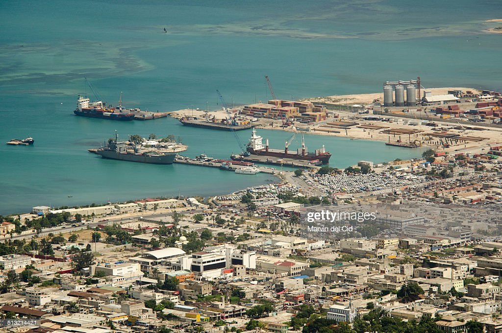 Port of Port-au-Prince : Stock Photo