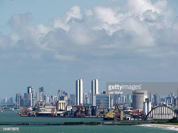 port of recife pe brazil - recife stock-fotos und bilder
