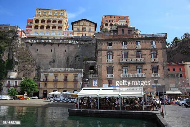 Port of Sorrento Campania Italy