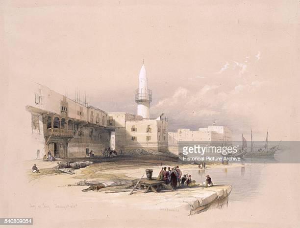 Port of Suez 1839 by David Roberts