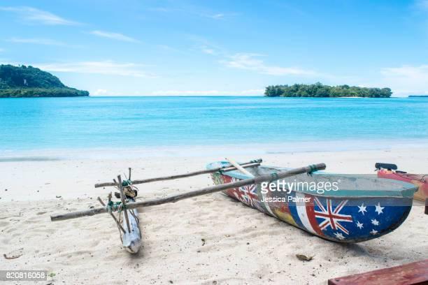 Port Olry Outrigger Canoe Vanuatu