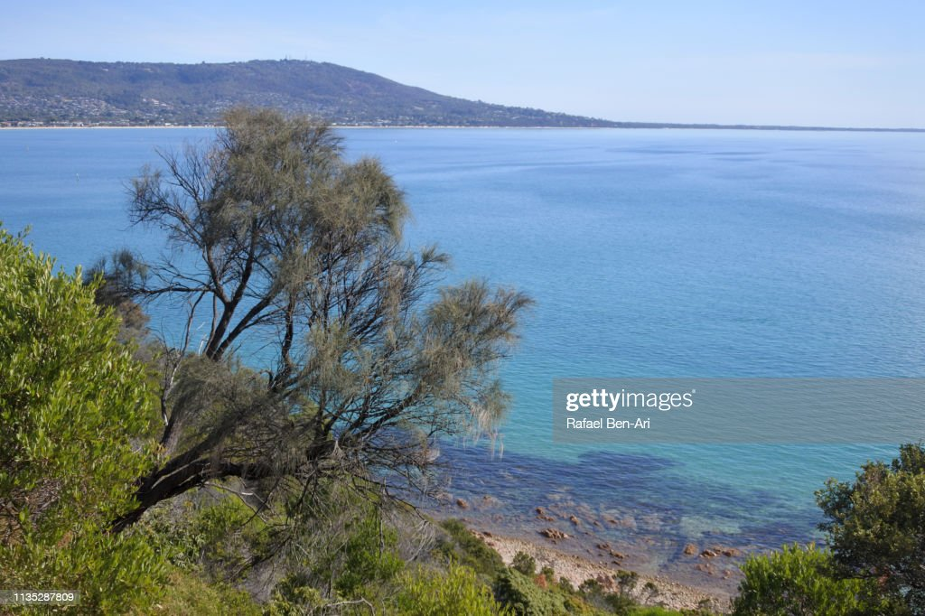 Port Phillip Bay Melbourne Victoria Australia : Stock Photo