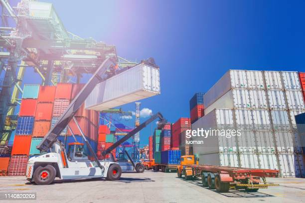 port - commercial dock stock pictures, royalty-free photos & images