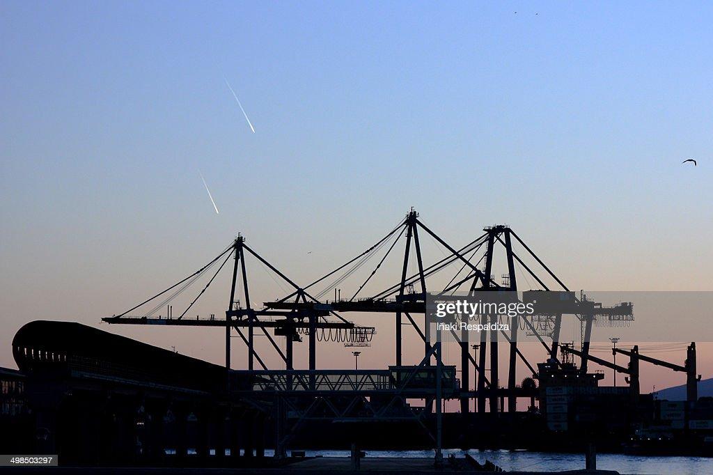 Port : Foto de stock