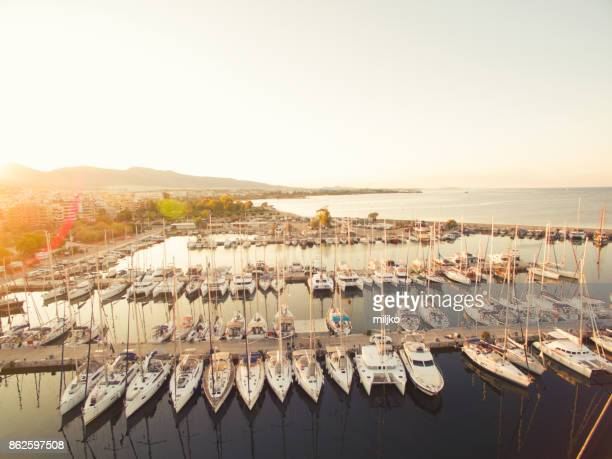 port piraeus in athens - piraeus stock pictures, royalty-free photos & images