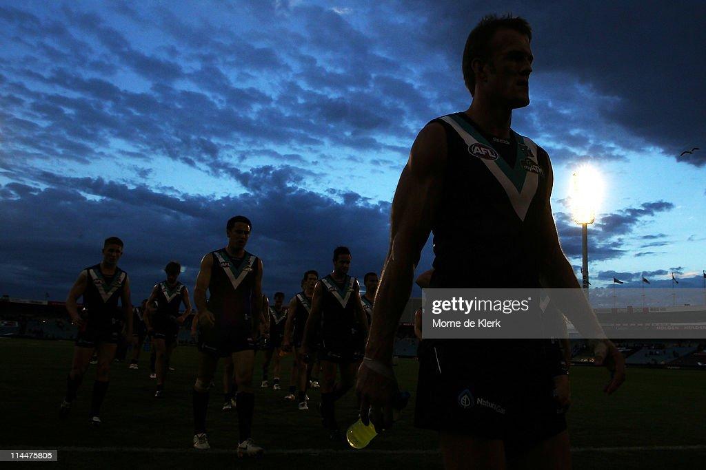 AFL Rd 9 - Port Adelaide v Fremantle