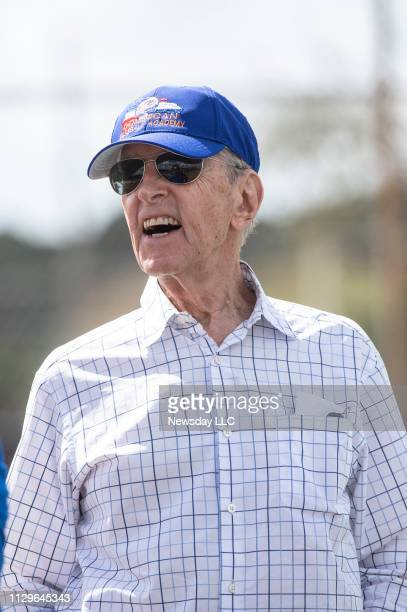 New York Mets majority owner Fred Wilpon during a spring training workout Tuesday Feb 12 2019 in Port St Lucie FL