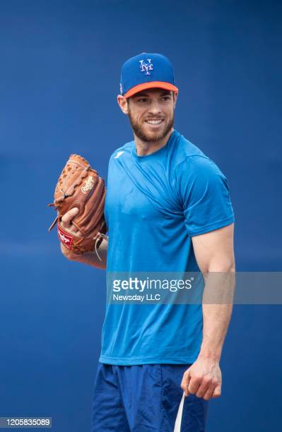 Port St. Lucie, Florida: New York Mets pitcher Steven Matz during a spring training workout at Clover Park in Port St. Lucie, Florida on February 10,...