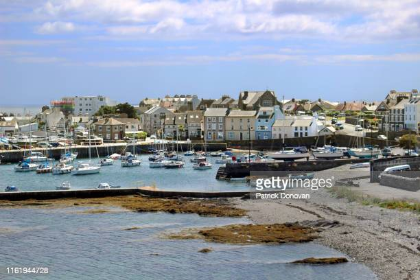 port st. mary, isle of man - isle of man stock pictures, royalty-free photos & images