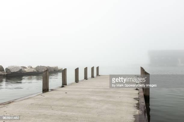 Port Stanley, Canada - Foggy