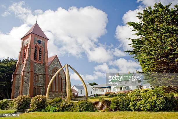 Port Stanley Church Falkland Islands