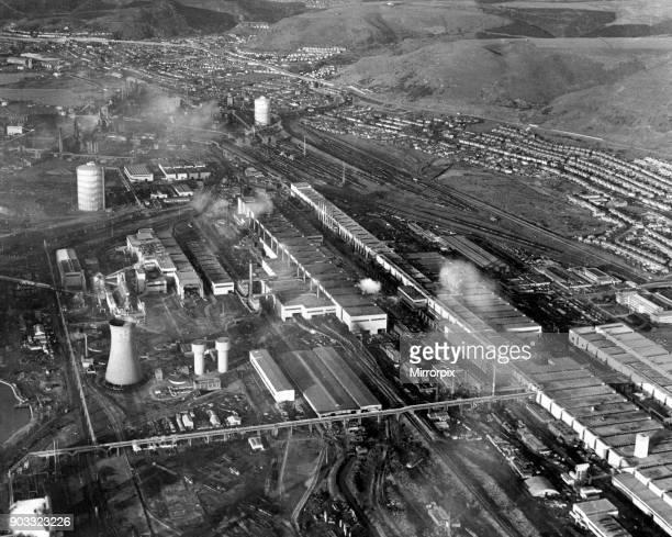 Port Talbot Steelworks, August 1969.