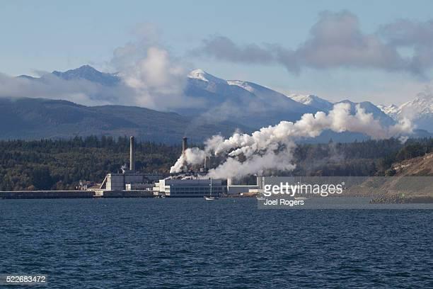 Port Townsend Paper, Pulp Mill, Port Townsend,