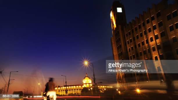 Port Trust Building:Karachi City Landscape, South Asia Pakistan