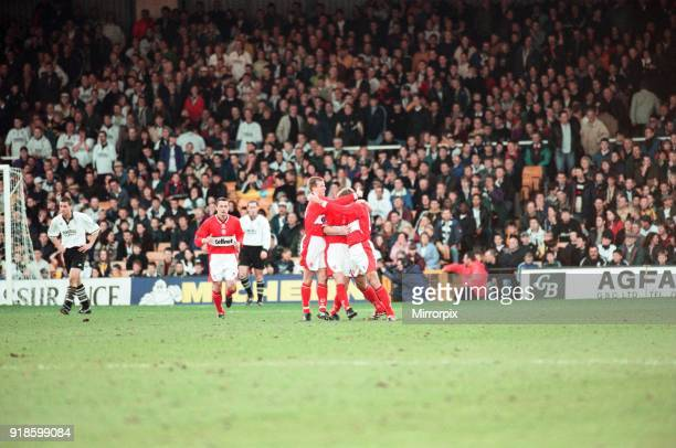 Port Vale 0 1 Middlesbrough Division One match held at Vale Park 24th April 1998