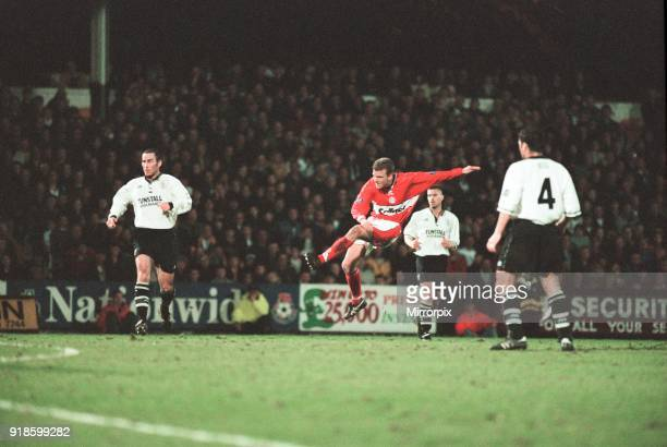 Port Vale 0 - 1 Middlesbrough, Division One match held at Vale Park, 24th April 1998.
