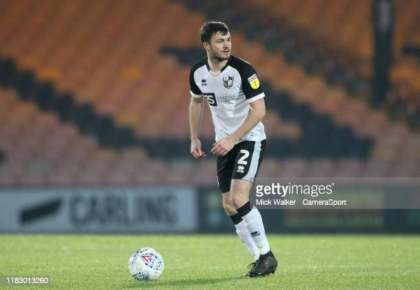 Port Vale's James Gibbons during the Sky Bet League Two match between Port Vale and Carlisle United at Vale Park on November 16 2019 in Burslem...