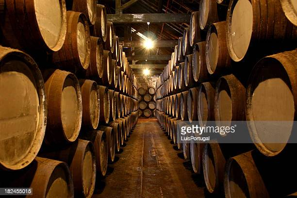 port wine cellar - whisky stock photos and pictures