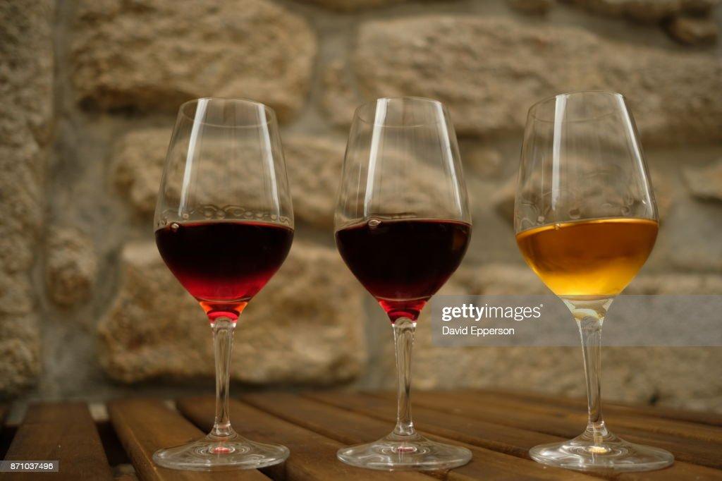 Port Wine in Porto, Portugal : Stock Photo