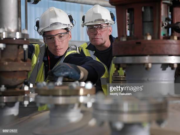 Port Worker Undergoing Training