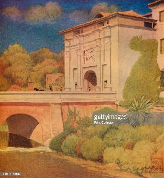 Porta Cavour, Treviso. By Joseph Southall' . Porta Santi Quaranta is one of three doors in 16th century walls of Treviso, located in Borgo Cavour....