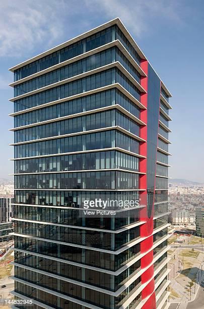Porta Fira Towers Plaça Europa L´Hospitalet Del Llobregat Barcelona Catalunya Spain Architect Toyo Ito Porta Fira Towers Toyo Ito And B720...