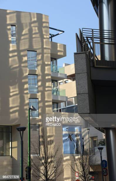 Porta Nuova Garibaldi area new urban regeneration project Milan Italy Europe