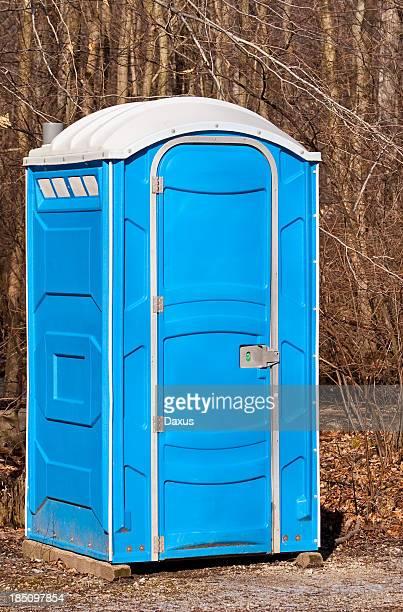 portabe toilet - portable toilet stock photos and pictures