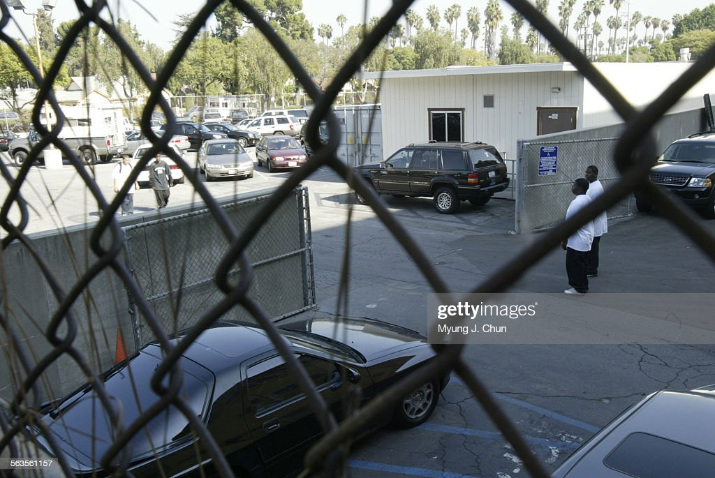 A Portable Classroom (upper Right) At Crenshaw High School Is Supposed To  Be The