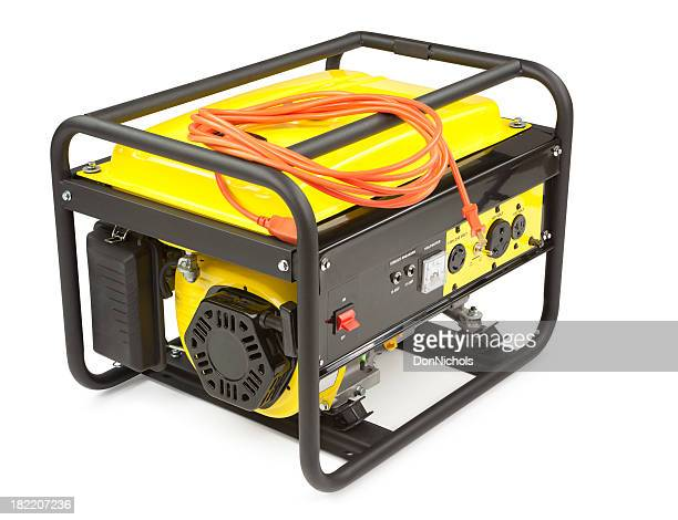 portable electric generator - generator stock pictures, royalty-free photos & images