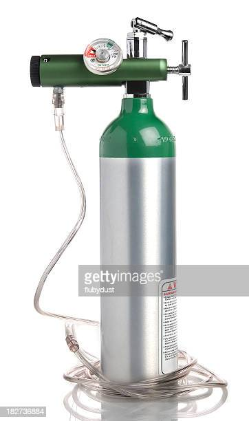portable oxygen tank - cylinder stock pictures, royalty-free photos & images