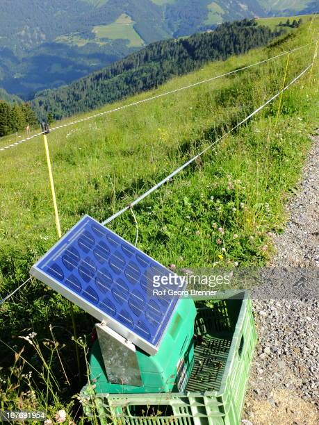 CONTENT] portable solar powered station to operate electric fences in remote areas in the Alps
