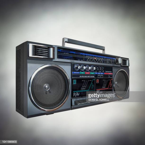 portable stereo hifi - recorder musical instrument stock photos and pictures