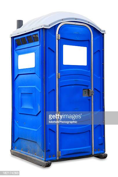 Portable Toilet. Portable Toilet Stock Photos and Pictures   Getty Images
