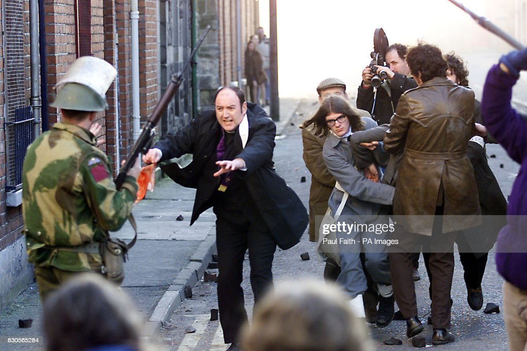 Bloody Sunday Film : News Photo