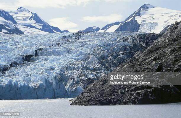 Portage Glacier Lake Alaska