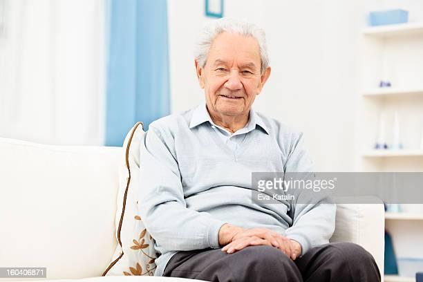 Portait of a confident senior man