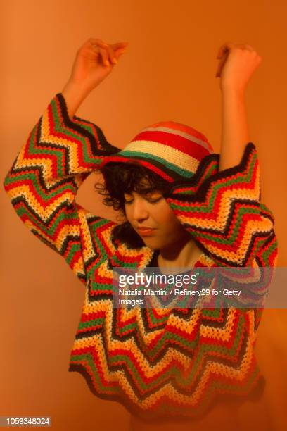 Portait of a Young Confident Latin American Woman