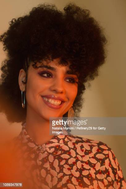 Portait of a Young Confident Latin American Woman Smiling