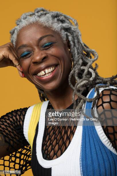 Portait of Confident African American Woman Laughing