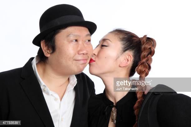 Portait of Japanese couple