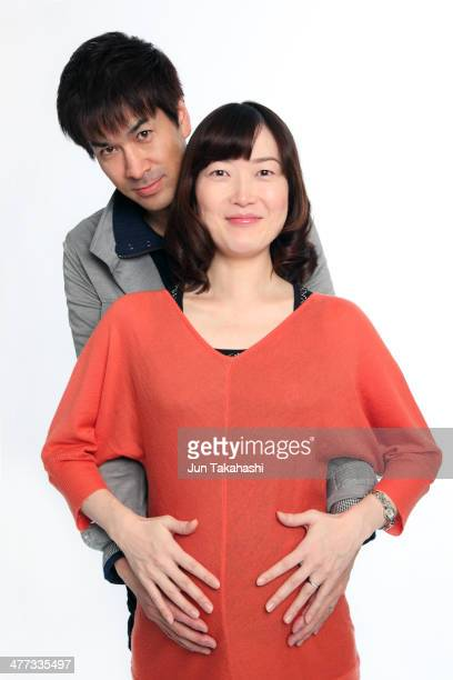 Portait of Japanese couple