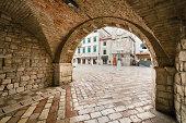 Portal and Entrance of Kotor
