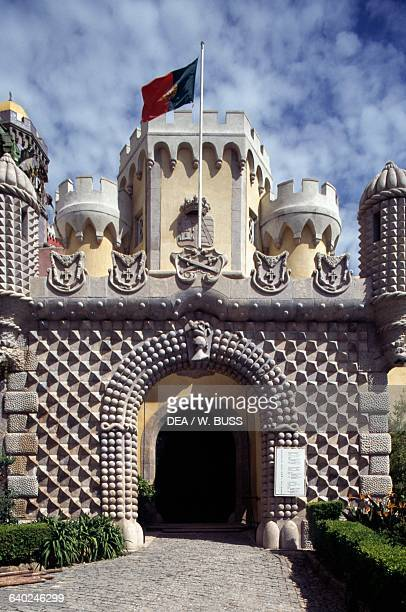 Portal Palacio da Pena 18401850 Sintra Lisbon Portugal 19th century