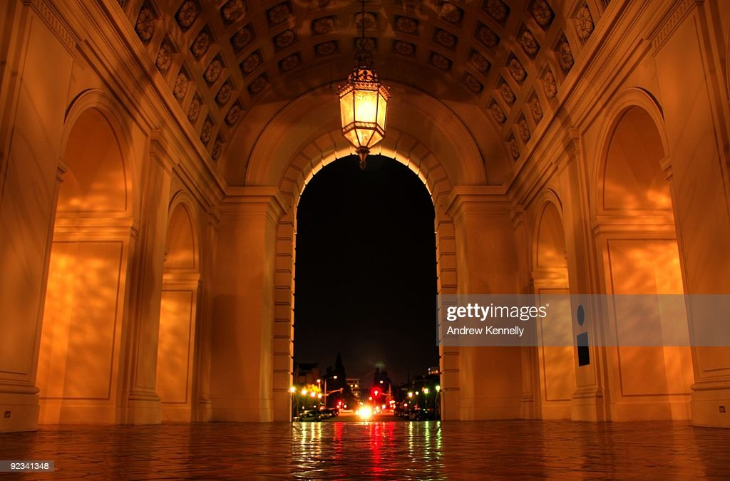 Portal to the night : Stock Photo
