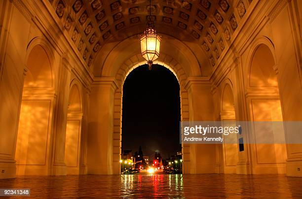 portal to the night - pasadena california stock pictures, royalty-free photos & images